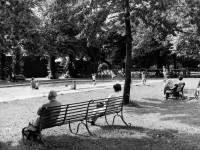 Morden Park: The paddling pool