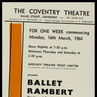 Coventry Theatre, March 1964 - P02