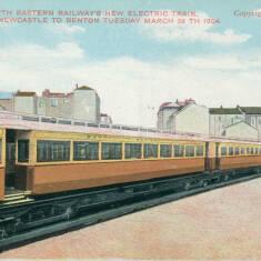 North Eastern Railways New Electric Train