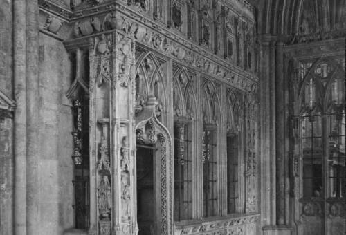 The Speke Chantry, Exeter Cathedral, c1900, Exeter