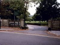 Entrance to the Wimbledon Park Golf Course