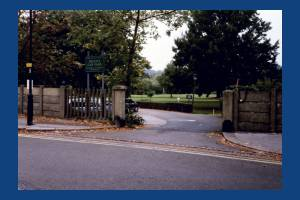 Entrance to the Wimbledon Park Golf Course