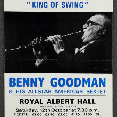 Benny Goodman, Royal Albert Hall