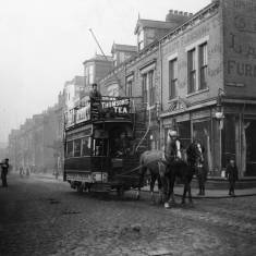 Horse Tram in Laygate Lane