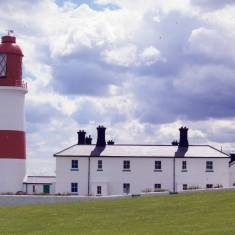 Clouds over Souter Lighthouse
