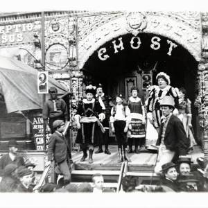 Ghost Train, May Fair, Hereford, c.1895