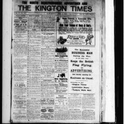 The Kington Times 1917