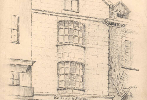 Collins & Flower, Cathedral Close, c.1930, Exeter