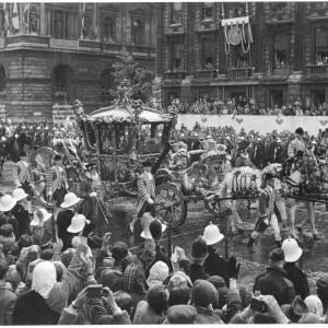 "282 - Coronation Coach ""June 2nd 1953 - Whitehall"""
