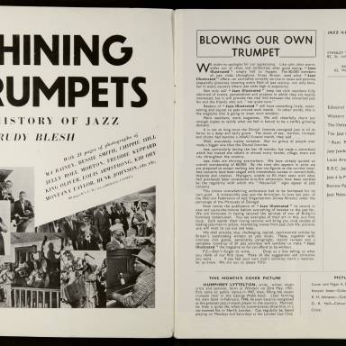Jazz Illustrated Vol.1 No.1 November 1949 0002