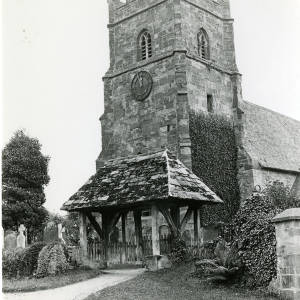 Church, lychgate and tower
