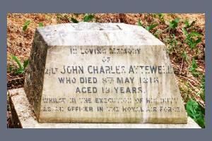 Gravestone of John Charles Attewell