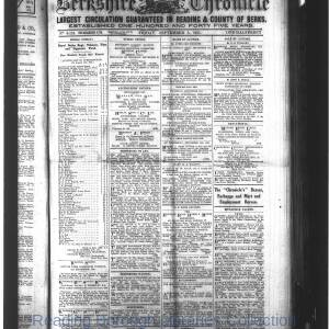 Berkshire Chronicle Reading 09-1915