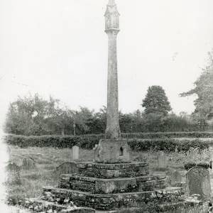 Blakemere, church cross, 1928