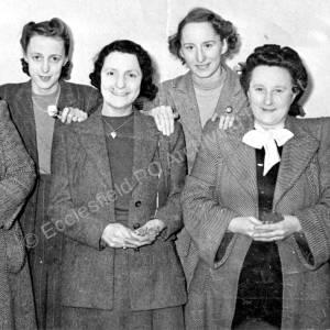 Grenoside Top Red Lion Ladies Dart Team c1950