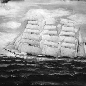 G36-064-04 Oil painting of sailing ship .jpg