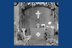 Side altar, unknown church