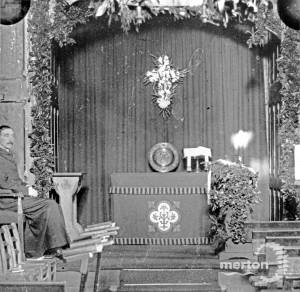 Side altar, unknown church