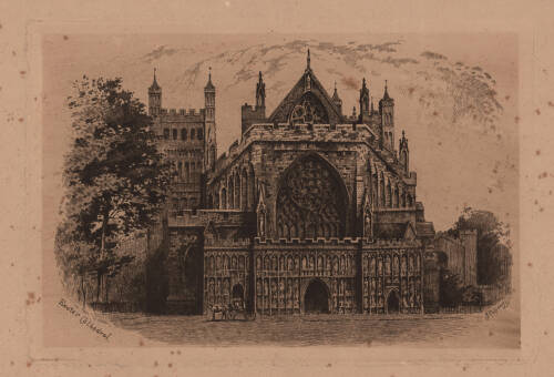 Exeter Cathedral, 1859, Exeter