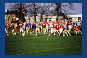 Merton Admirals American Football Club: News of World Ground