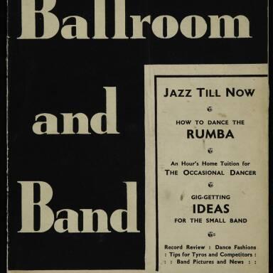 Vol.1 No.1 November 1934