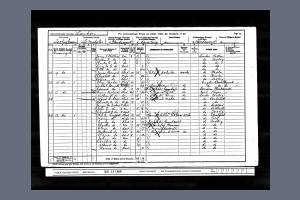 1901 Census for 12 Recovery Road, Tooting