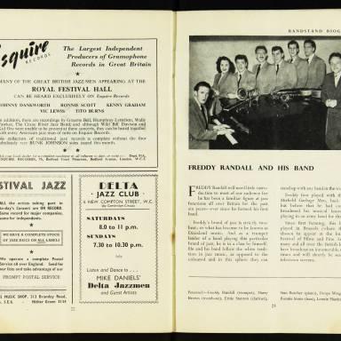 National Federation of Jazz Organisations, Royal Festival Hall - 1955 013