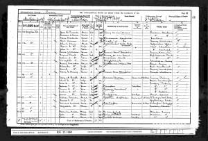 1901 Census - 98 Kingston Road, Merton