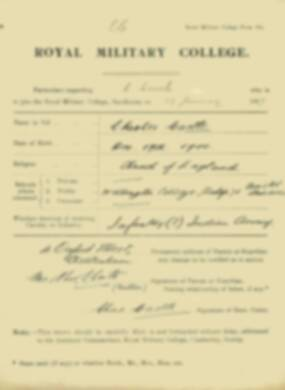 RMC Form 18A Personal Detail Sheets Jan-Sept 1919 - page 6