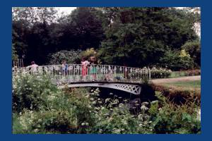 Morden Hall Park, Morden: Bridge