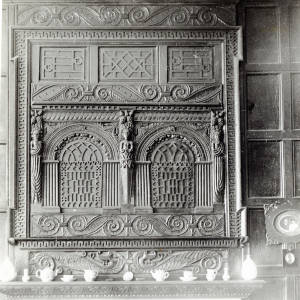 Brockhampton, Fawley Court fireplace panel