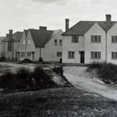 1920s Construction of Houses on Bidwell Hill