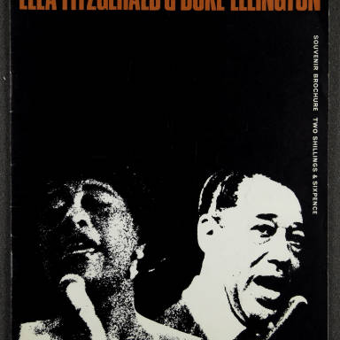 Ella Fitzgerald and Duke Ellington Orchestra – February  1967 001