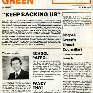 Chapel Green News Spring 1977.