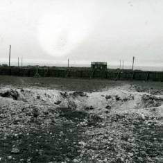 Bomb Damage at Battery Field