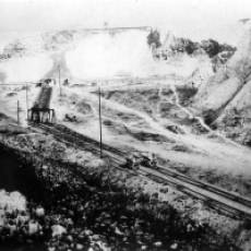 1920s Dunstable Lime Co Ltd Quarry at Sewell