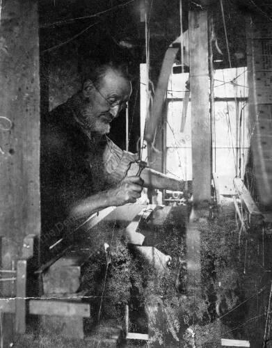24 Jacquard Hand-Loom Weaver at Gelder's, Clayton West