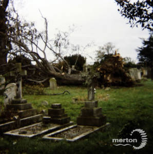 St Peter and St Paul's churchyard, Church Road, Mitcham