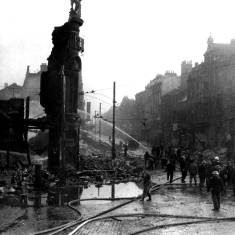 Bomb Damage in King Street