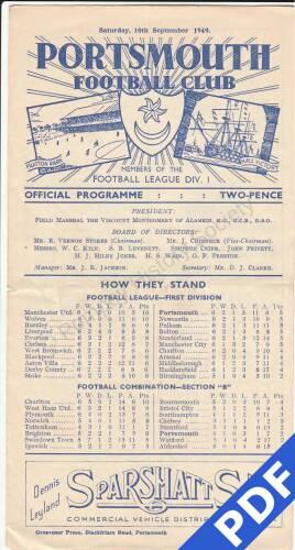 19490910 Everton Home