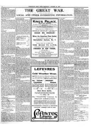13 OCTOBER 1917