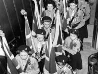 Guides' Empire Day at Parish Church, Mitcham