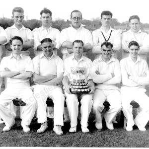 Grenoside Cricket Team c 1956