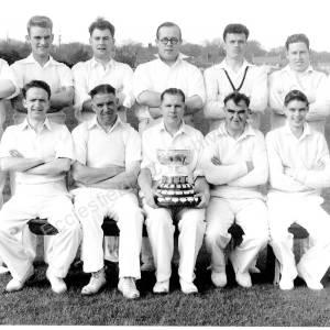 Grenoside Cricket Team c 1956
