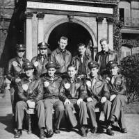 American Air Force Bomber Crew