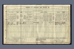 1911 Census for 3 Byegrove Road, Colliers Wood
