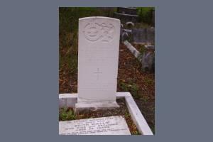 Gravestone of Ernest J Blagburn