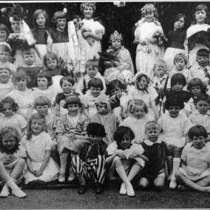 Burncross School  May Queen Celebration, 1930's