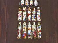 Stained glass window, Mitcham Parish Church