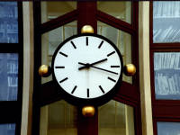 Clock, Merton Civic Centre